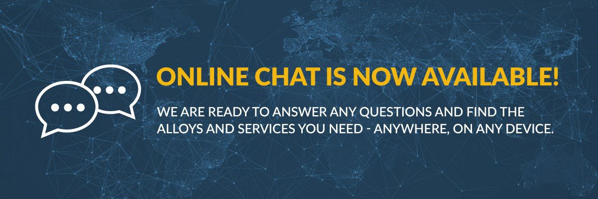 Online Chat is Now Available